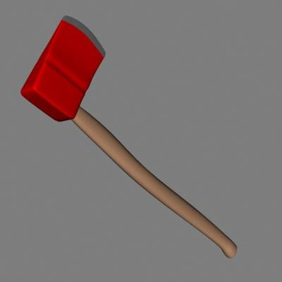 3ds max axe