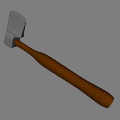 hatchet axe 3ds