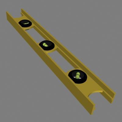 level tool 3d model