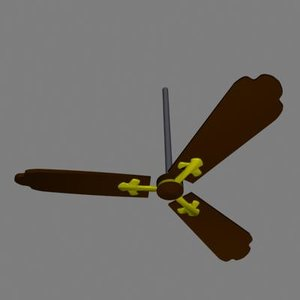 ceilingfan 3d model