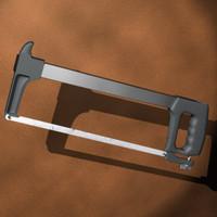 3d hacksaw saw