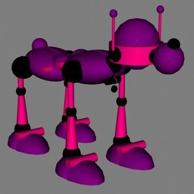 3ds robot droid