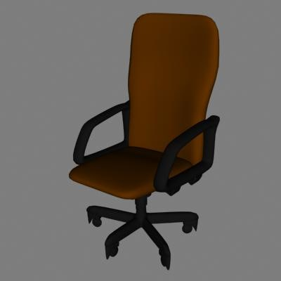3d dxf chair
