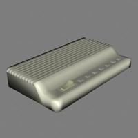 3d modem model