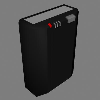 pager 3d model