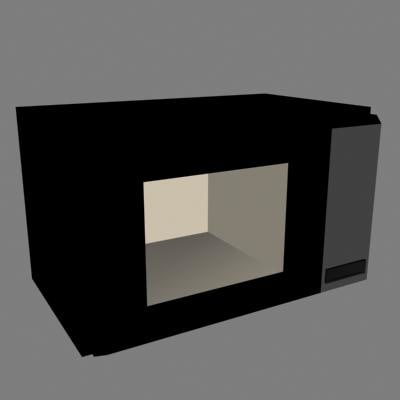 3ds max microwave