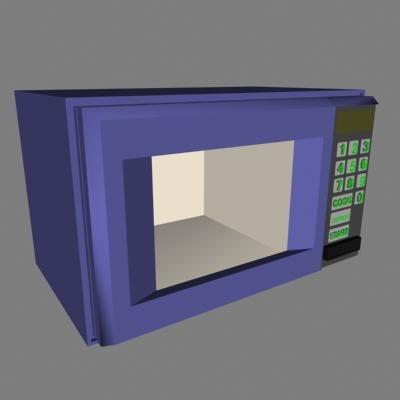 3dsmax microwave