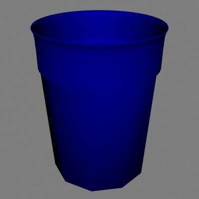 plastic blue 3d 3ds