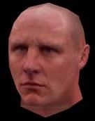 3d photo realistic male head