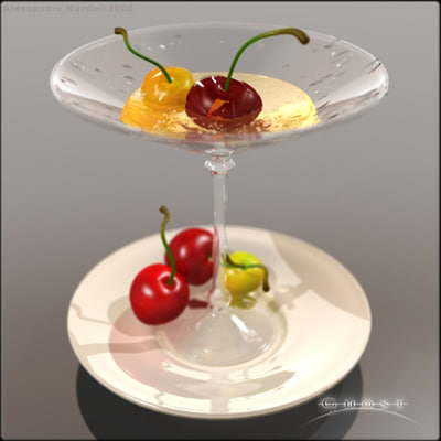 drink photorealistic glass 3d max