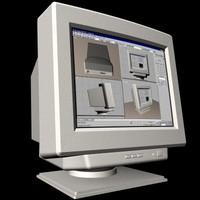 3d computer monitor iiyama vision model