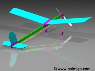 plane toy 3d
