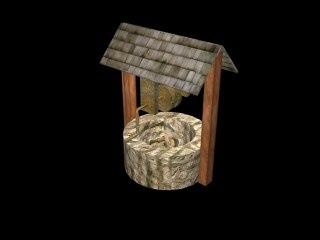 free wellfree textureswoodmetalold 3d model