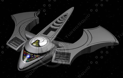 ship mesh starter ace 3d model