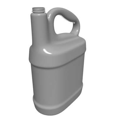 3d model of bottle container