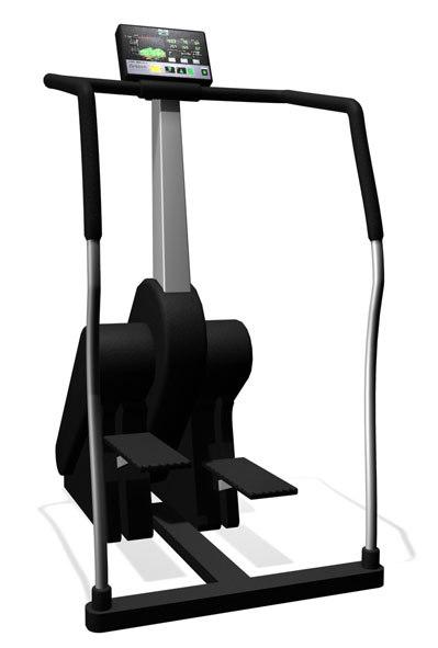 3d model of step machine