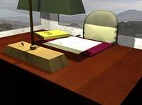 office desk chair 3d model