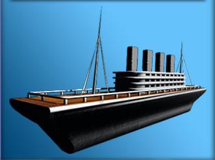 ship modeled 3d model