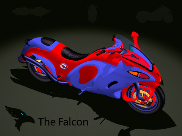 The Falcon.3dm