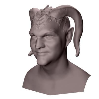3d devil model