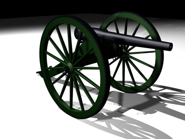 3d civil war model
