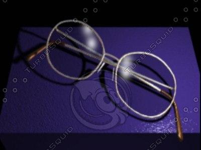 eye glasses 3ds