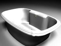3ds max bathroom tub