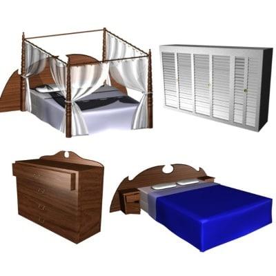 max bedroom bed