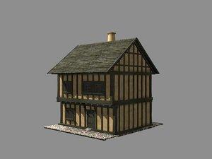 building medieval europian house max