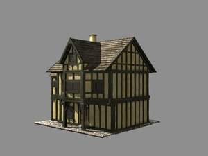 building medieval house max