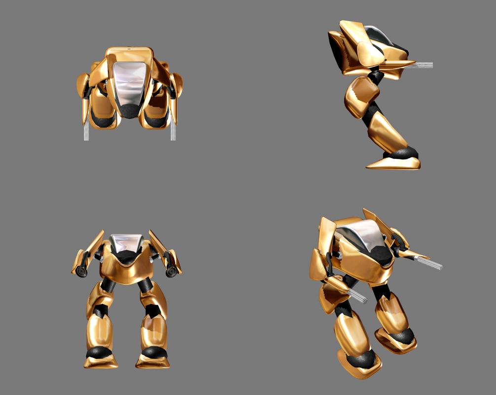 battletech 3d model
