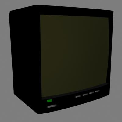 3d television model