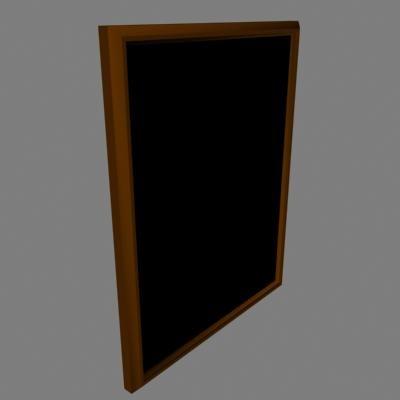 lightwave mirror frame