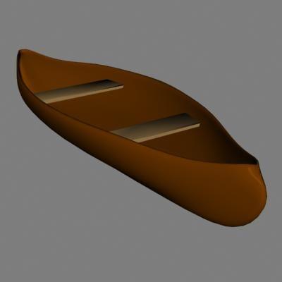canoe 3d lwo