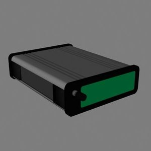 3d model modem