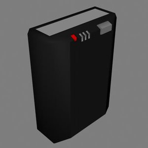 3d pager model