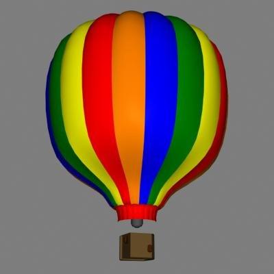 3d ballon basket model