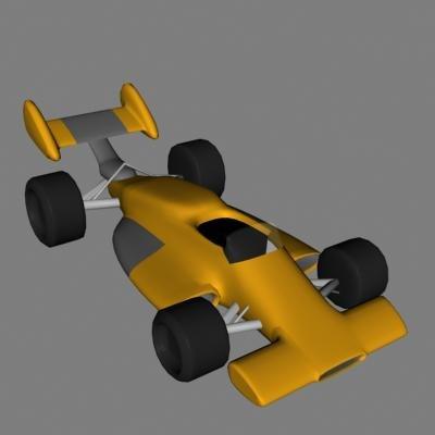 car indycar 3d lwo