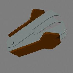 staple 3d model