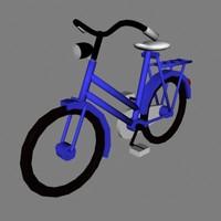 bike old 3d model