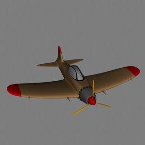 3d fighter plane