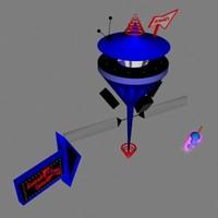 3d model space