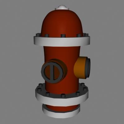 hydrant pump 3d lwo