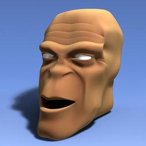 max creature head