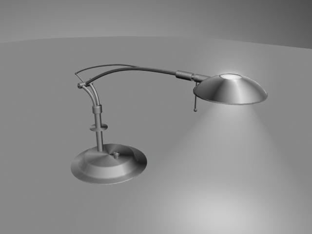 3d table lamp model