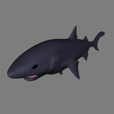 shark 3d dxf