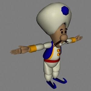 3d genie model
