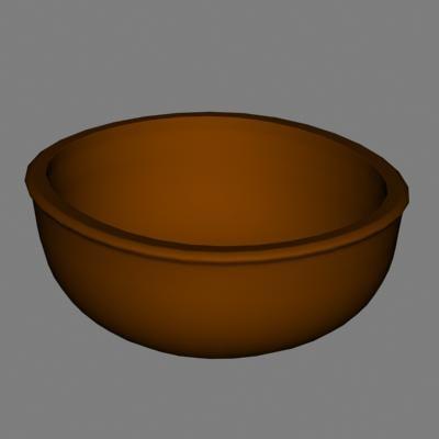 bowl 3d dxf
