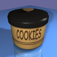 3d cookie jar