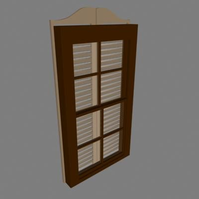 window style 3d model
